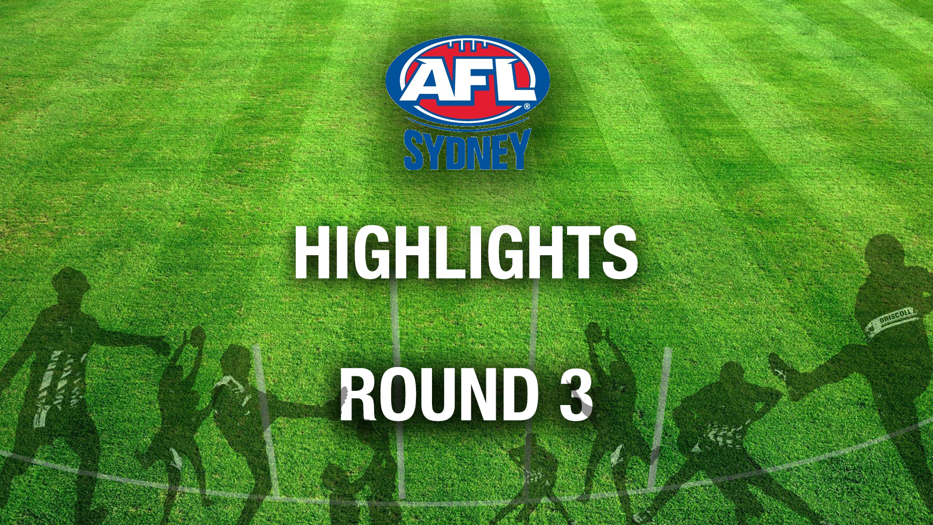 AFL SYDNEY 2018 RD3 HIGHLIGHTS